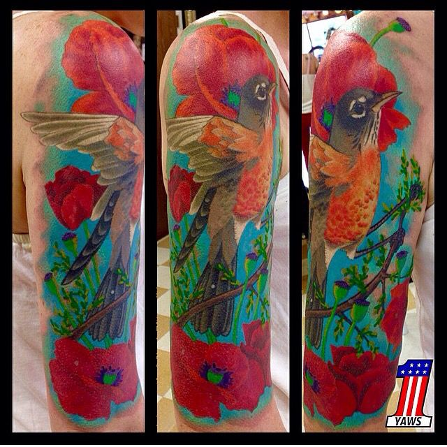 Chris Yaws at Mantra tattoo. Visit our website www.mantratattoo.us for more awesome tattoo related content!