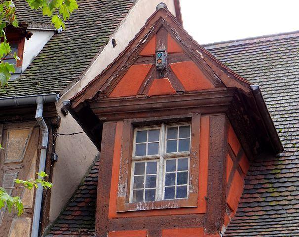Fenster Fachwerkhaus fenster fachwerk rot braun fachwerk