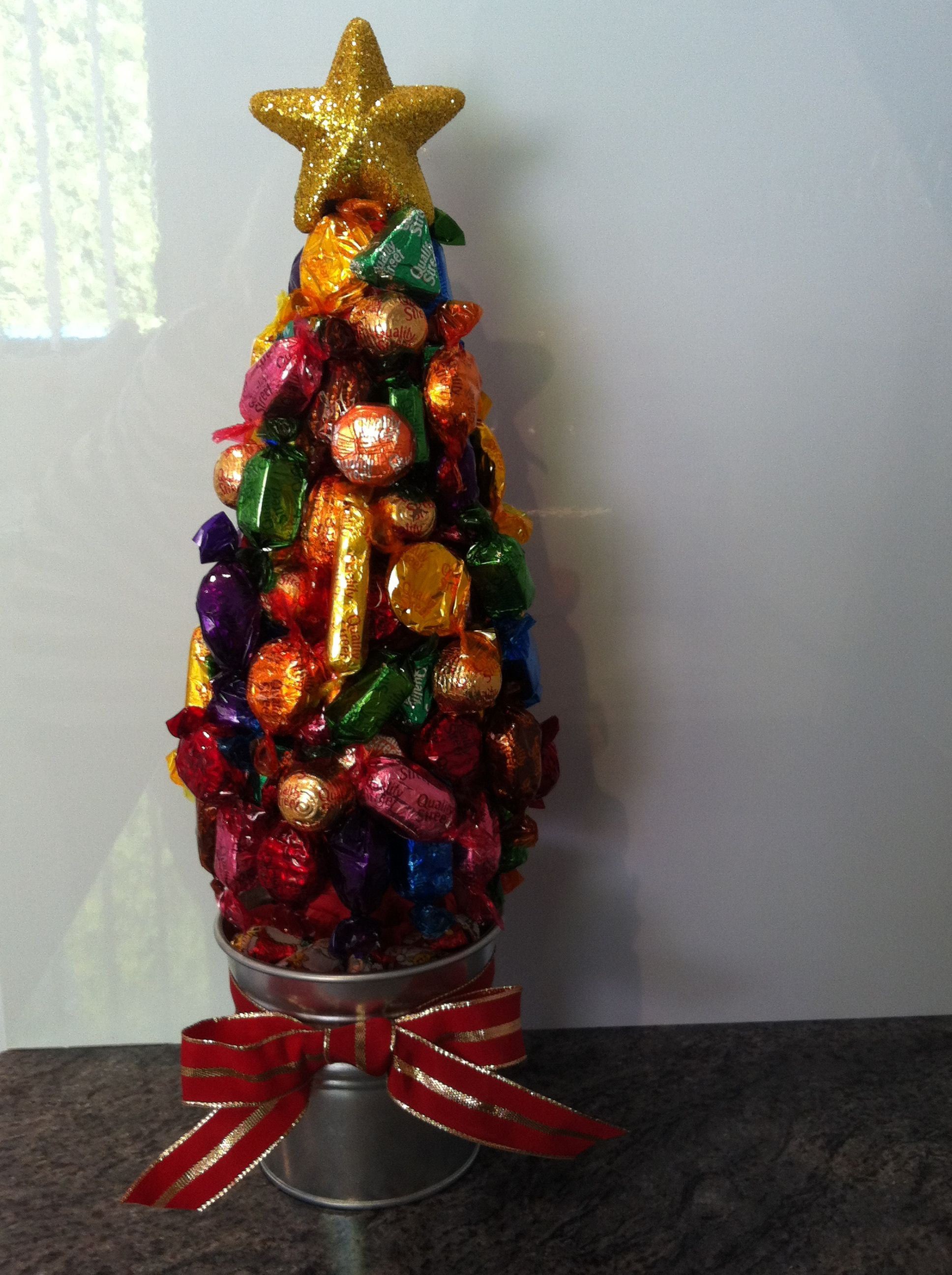 Quality Street Christmas Lolly Tree
