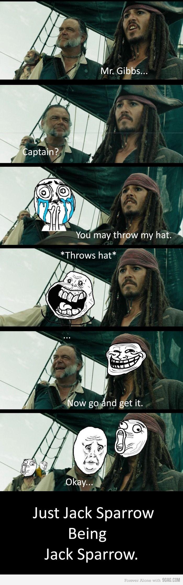 Just Jack Sparrow.
