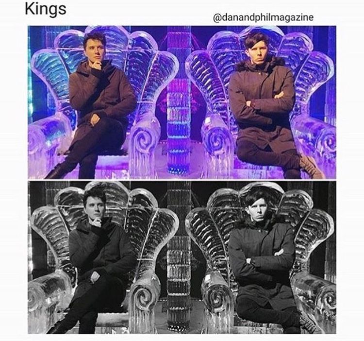 On the thrones that they deserve