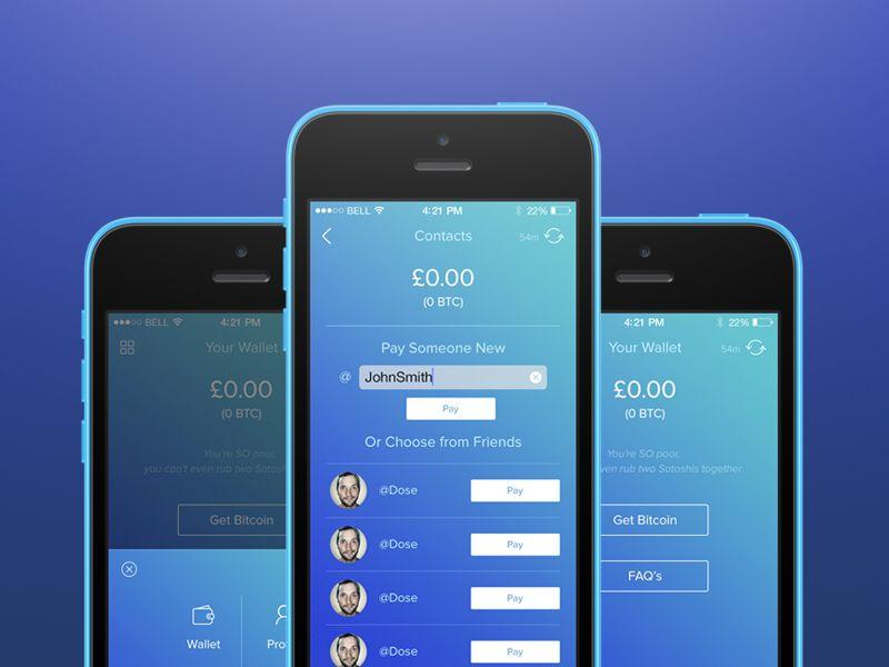 Wyre Bitcoin Wallet Bitcoin wallet, App design, Wallet