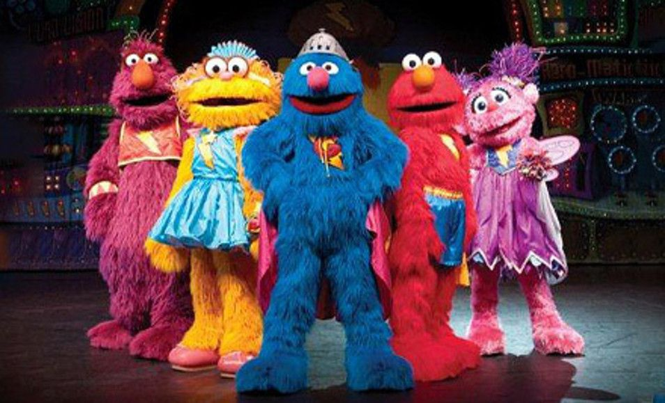 Groupon Sesame Street Live Elmo 39 S Super Heroes At Madison Square Garden Up To 40 Off