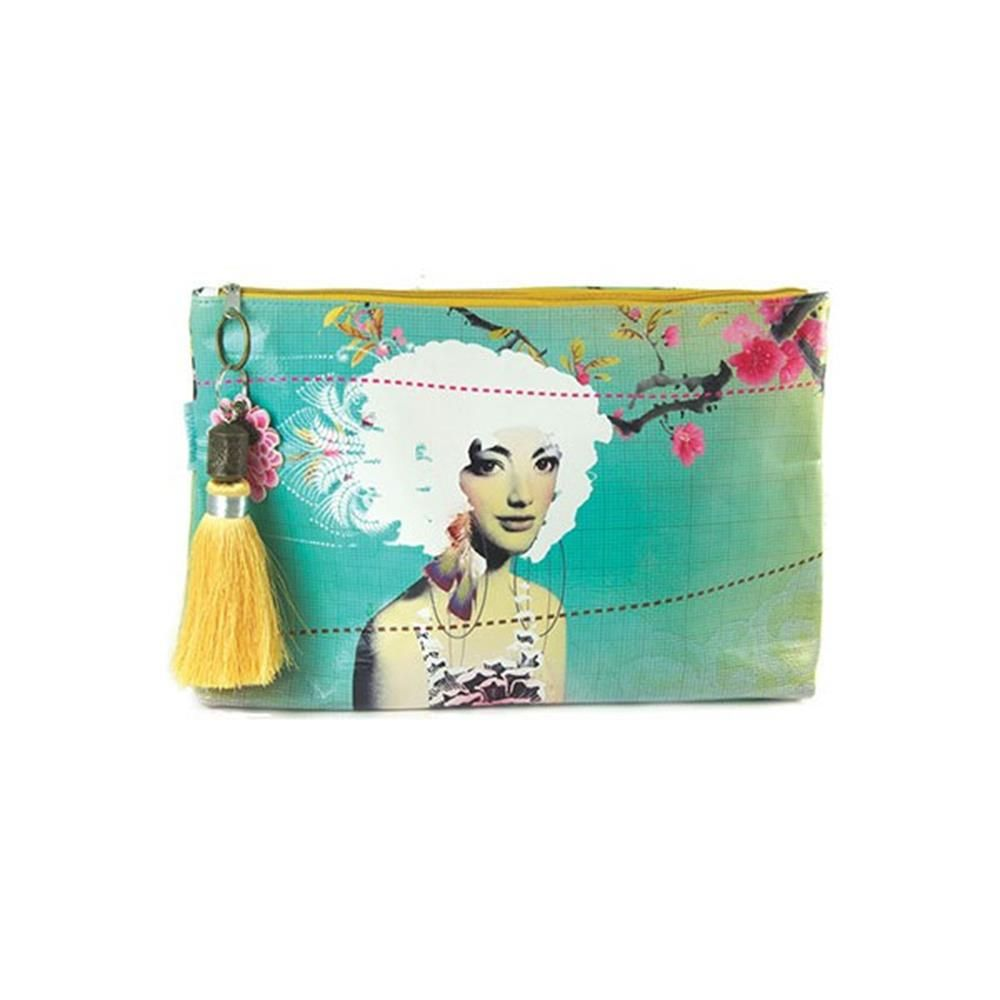 Papaya Art Large Accessory Pouch Fabulous | Womens Bags Makeup Travel