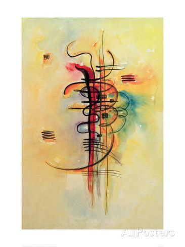 Watercolour No 326 1928 Giclee Print By Wassily Kandinsky At