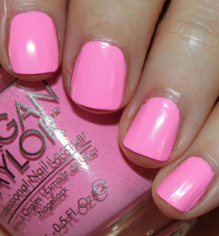La Looks Nail Polish: Morgan Taylor Look At You, Pink-achu!