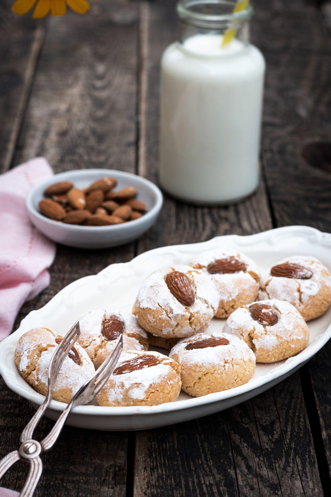 italienische Mandelkekse - Rezept #cookiesalad