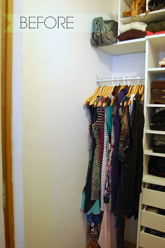It's a New Year and that means it's time to get organized, right? Well, our master closet was a sad state of affairs. After purging out…