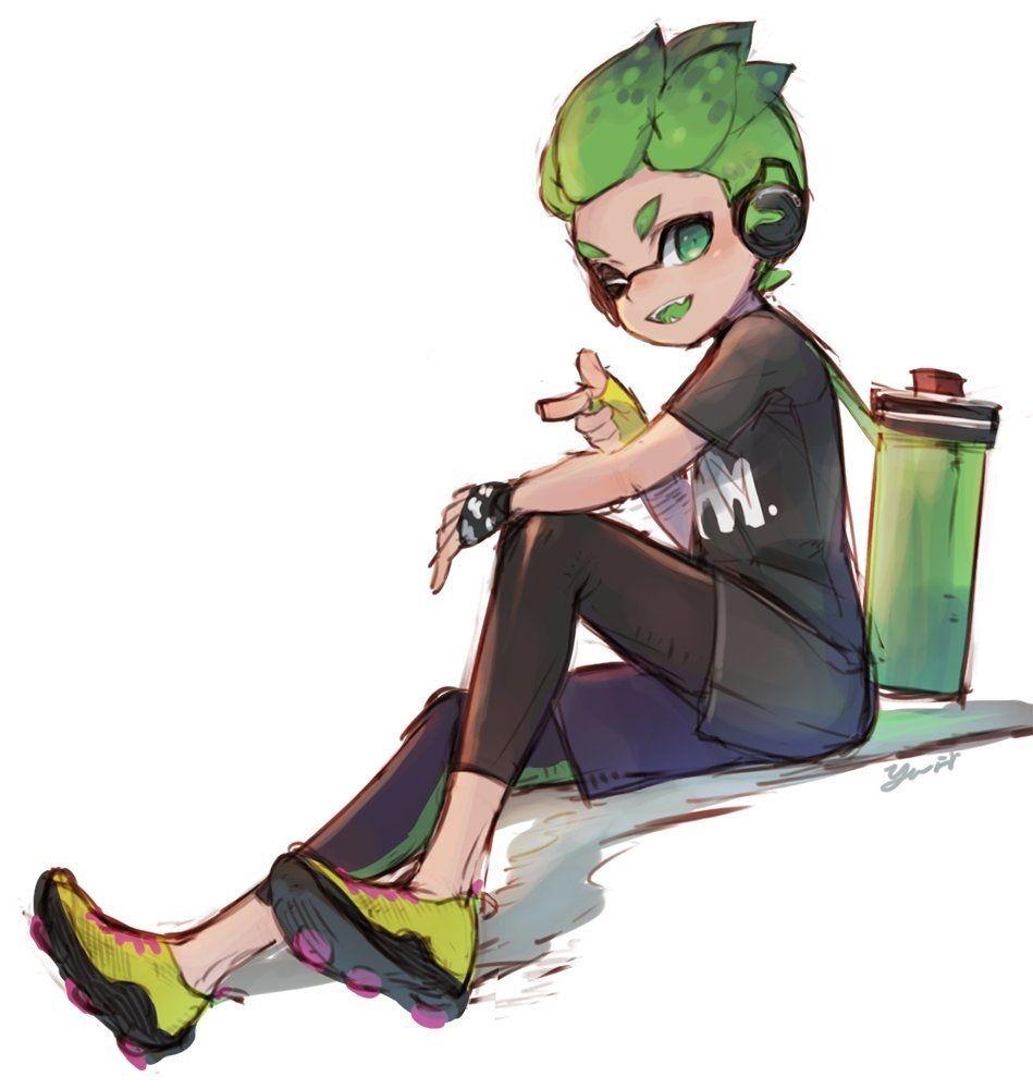 Splatoon 2 boy hairstyles pin by ωalex ω on splatoon  pinterest  manga