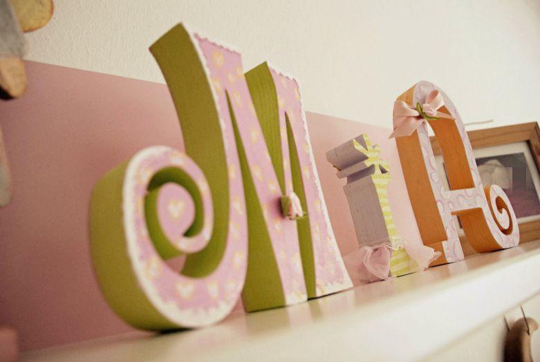 77 Neu Fotos Von Holzbuchstaben Kinderzimmer Baby One