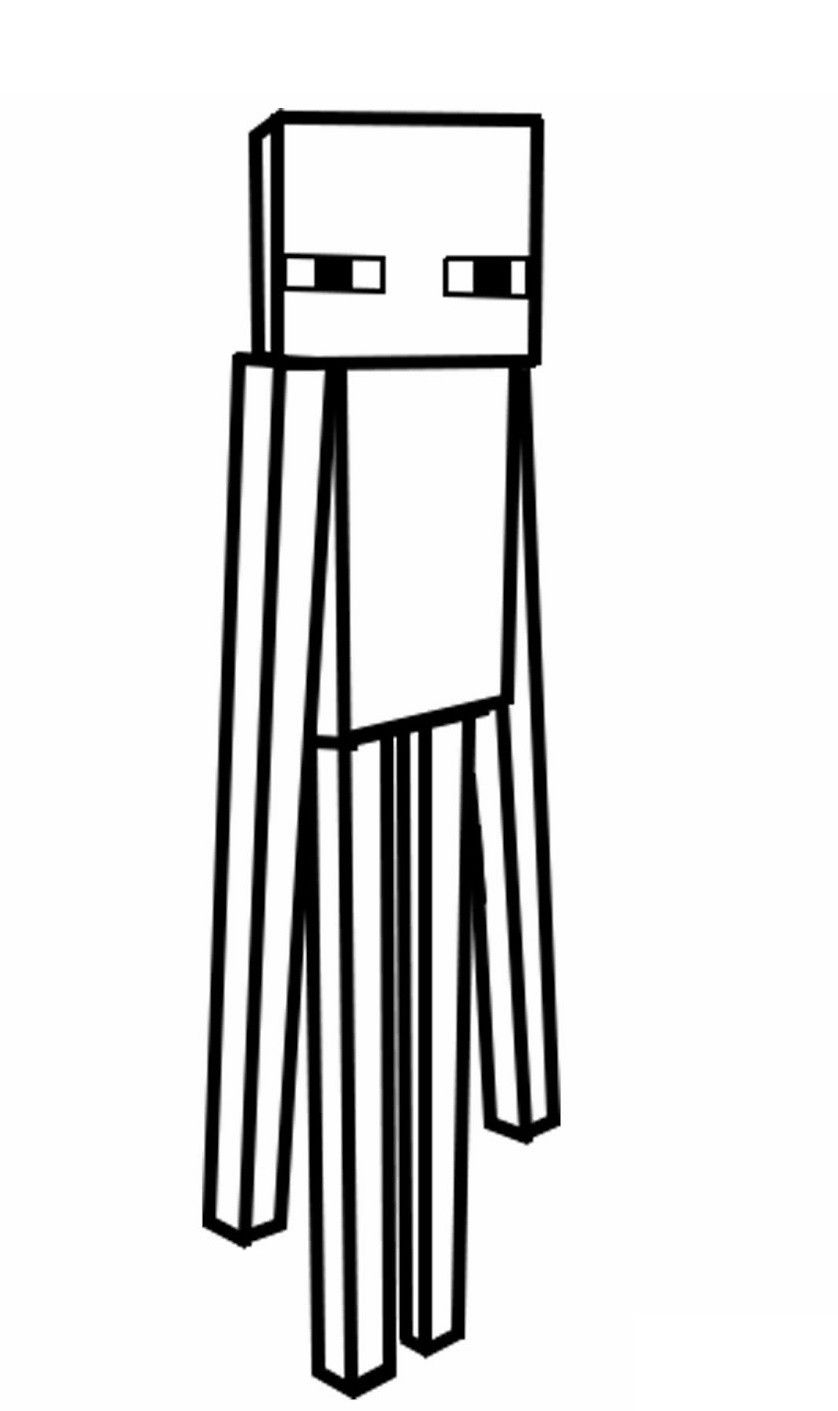 Minecraft Enderman Coloring Page Youngandtae Com Coloring For Kids Coloring Pages Minecraft Coloring Pages