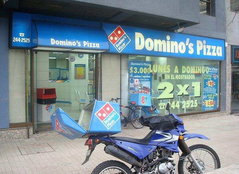 Domino's store in Providencia, Chile. Pois, Cleveland