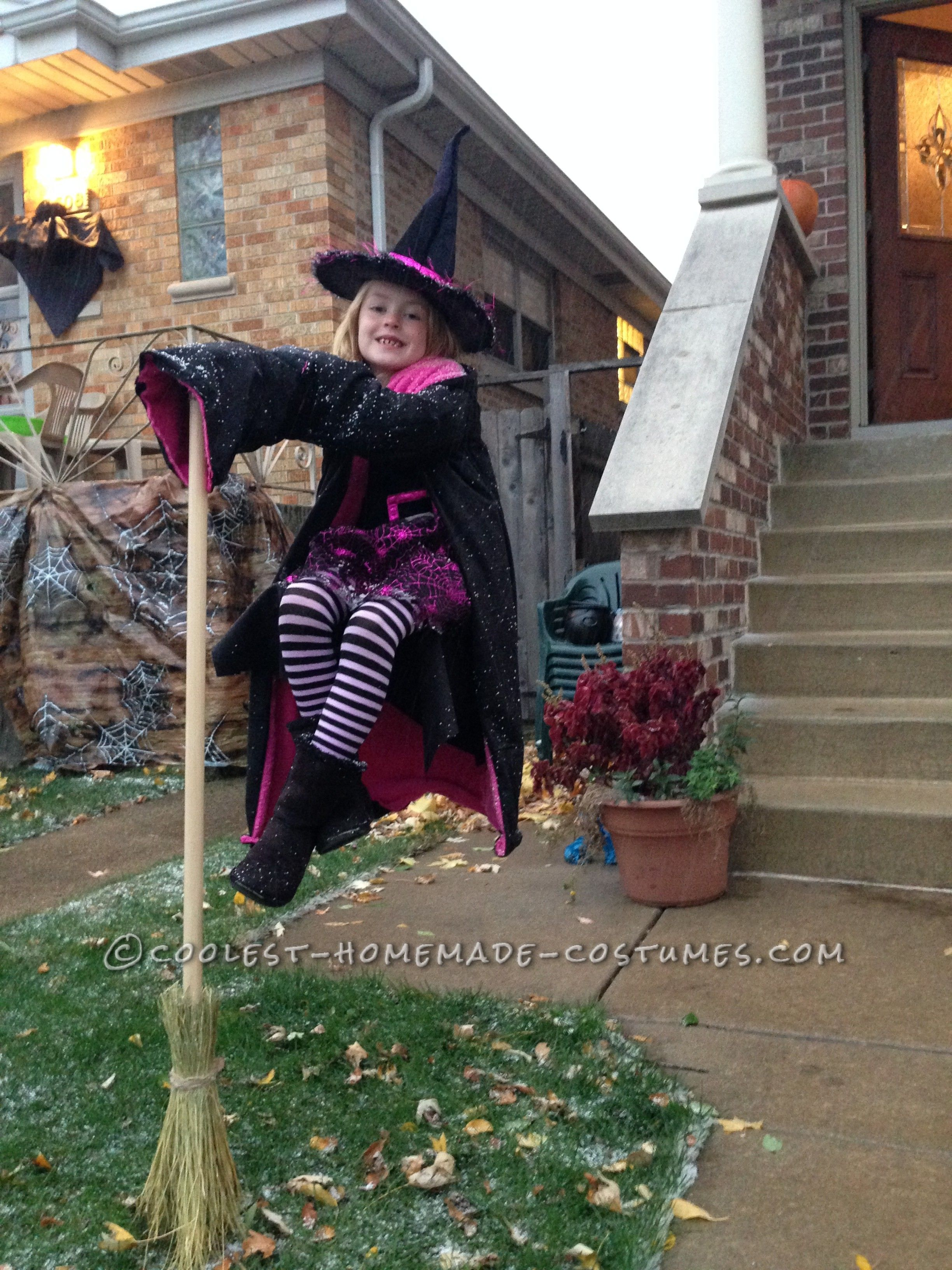 Floating Witches Halloween Illusion Costume | Halloween costume ...