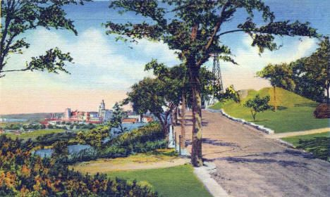 Indian Mounds Park, St  Paul Minnesota, 1936 | {St  Paul