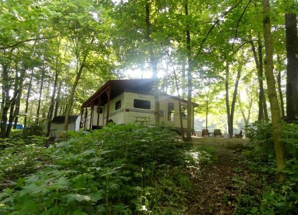 Lake Of The Woods Camp Site Outdoor Camping Campground New York State Parks