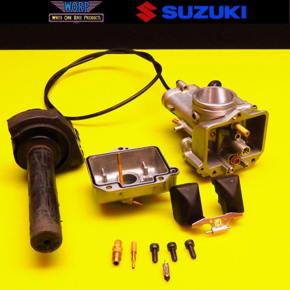 2001 Suzuki Rm125 Mikuni Carburetor Carb Throttle Cable 01 02 03 13260 36f00