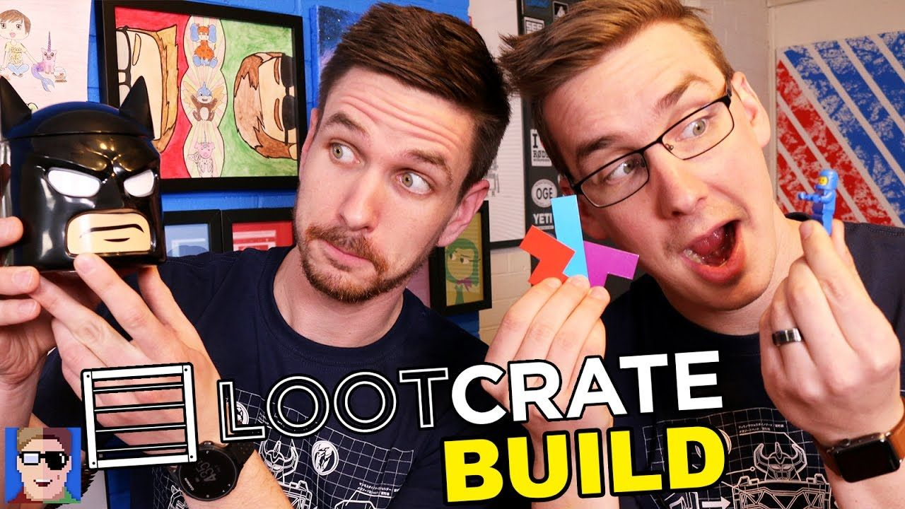 Loot Crate Unboxing Build Crates Youtube Brother