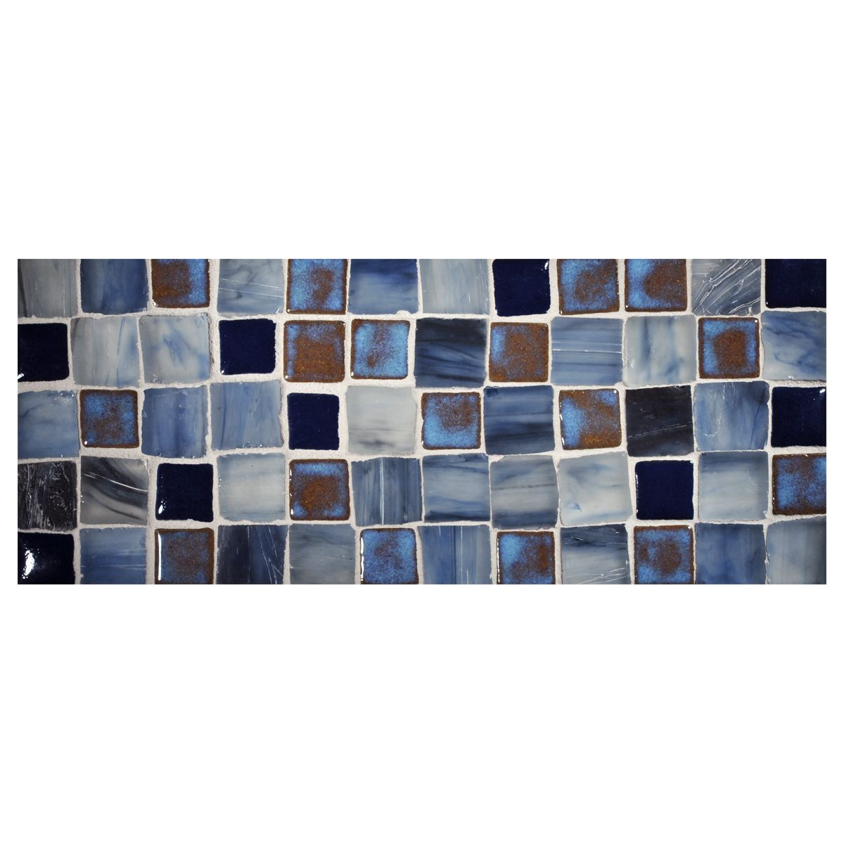 Prodigy Ceramic Mosaic Tile Custom Blend 1 X 1 Mosaic Tiles Mosaic Ceramic Mosaic Tile