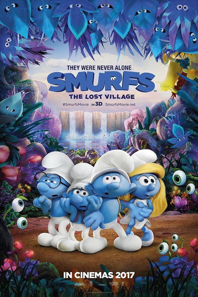 Smurfs The Lost Village Film Animasyon Filmler 7 Nisan