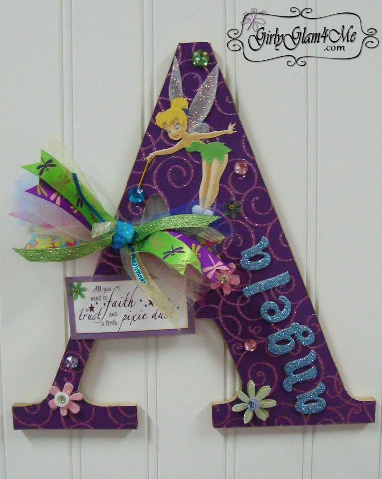 Decorated Glam Letters