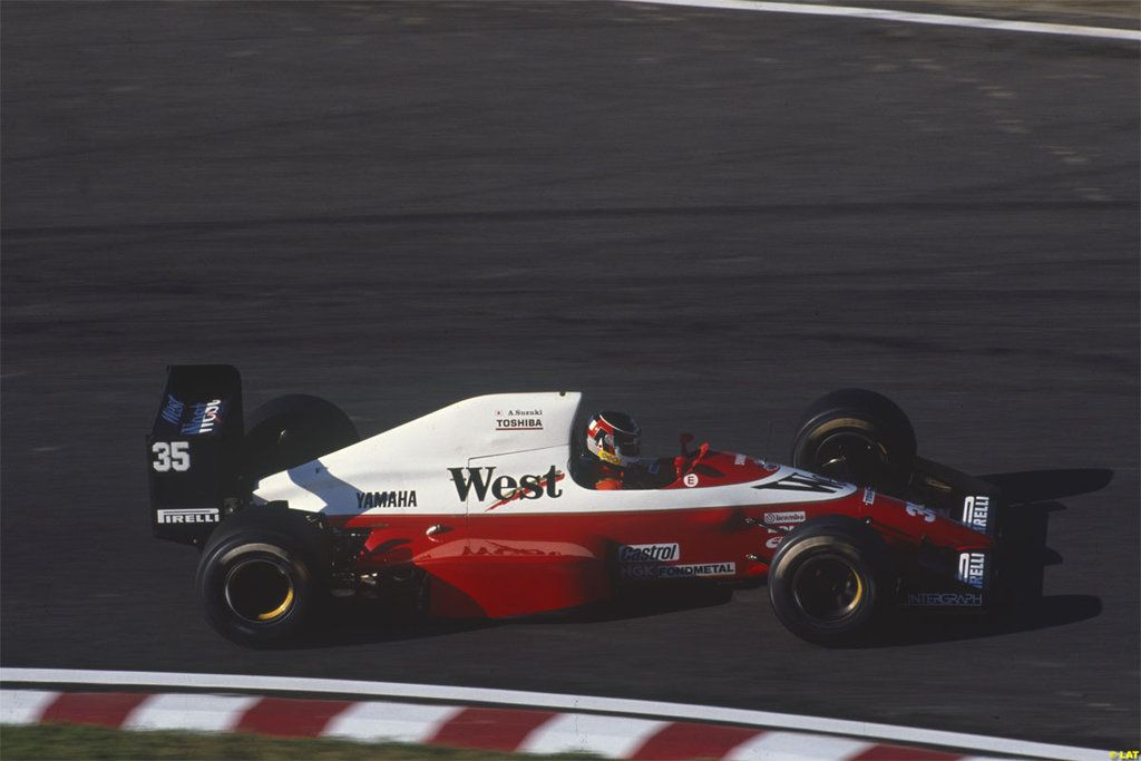 Image result for 1989 suzuka arrows