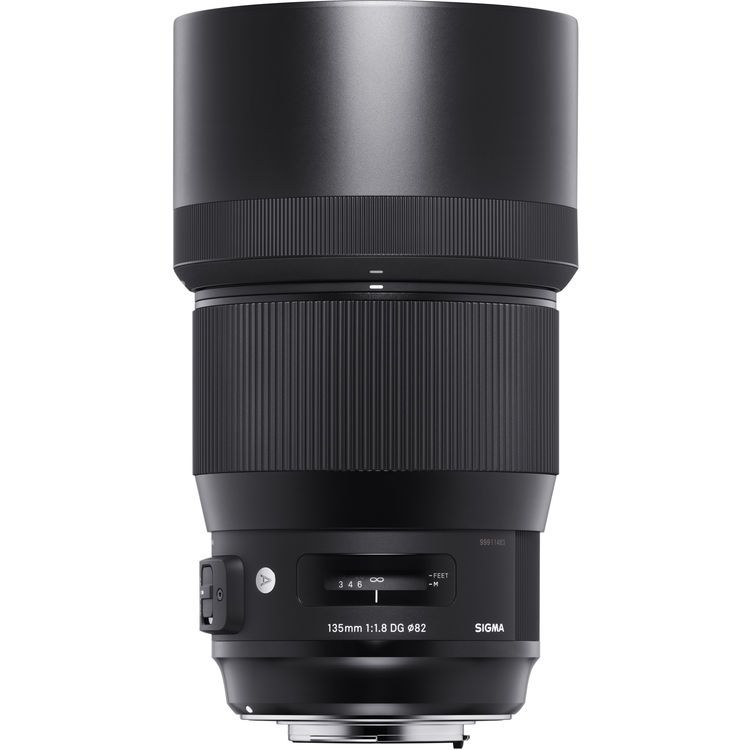 Sigma 135mm F 1 8 Dg Hsm Art Lens Now Available For Pre Order