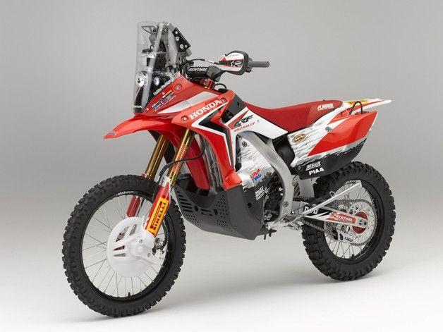Honda CRF 450 Dakar.