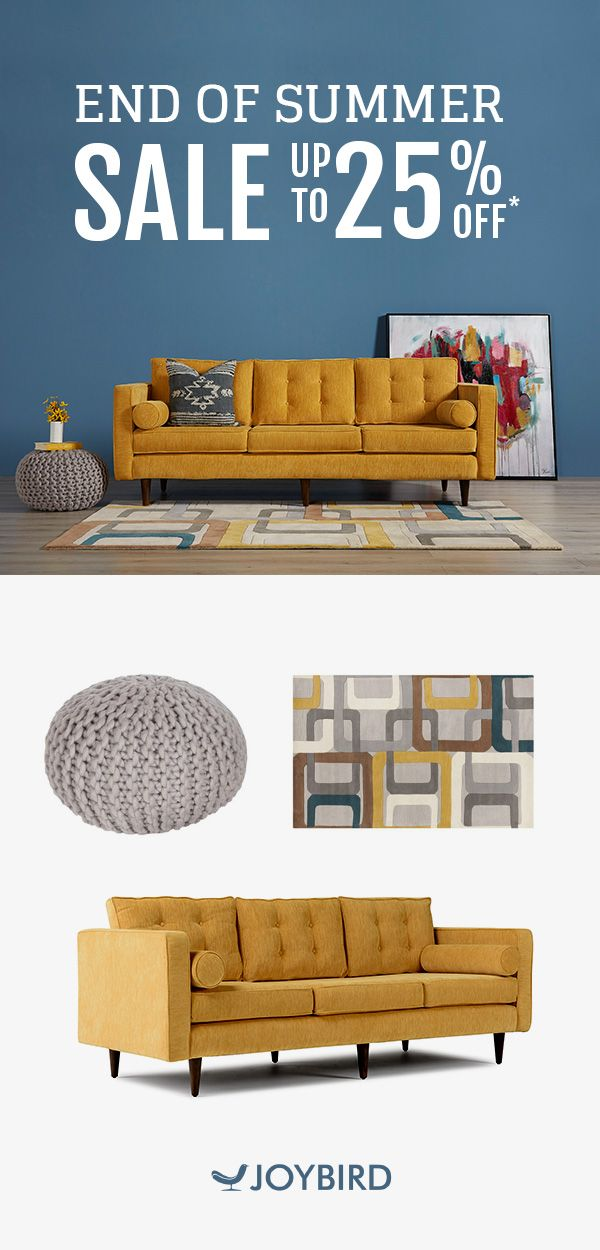Joybird Likes To Do Things A Little Differently. They Believe That Furniture  Should Be Custom Made To Fit You And Your Home. Save Up To 25% OFF Your  Entire ...