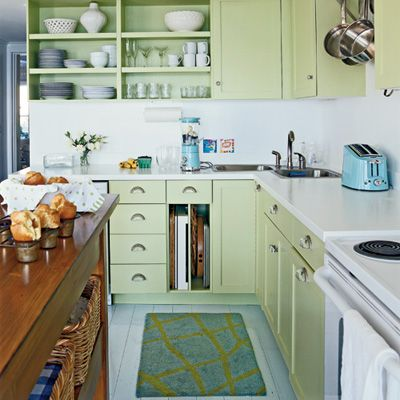 Light Green Painted Kitchen Cabinets perfect light green painted kitchen cabinets on inspiration