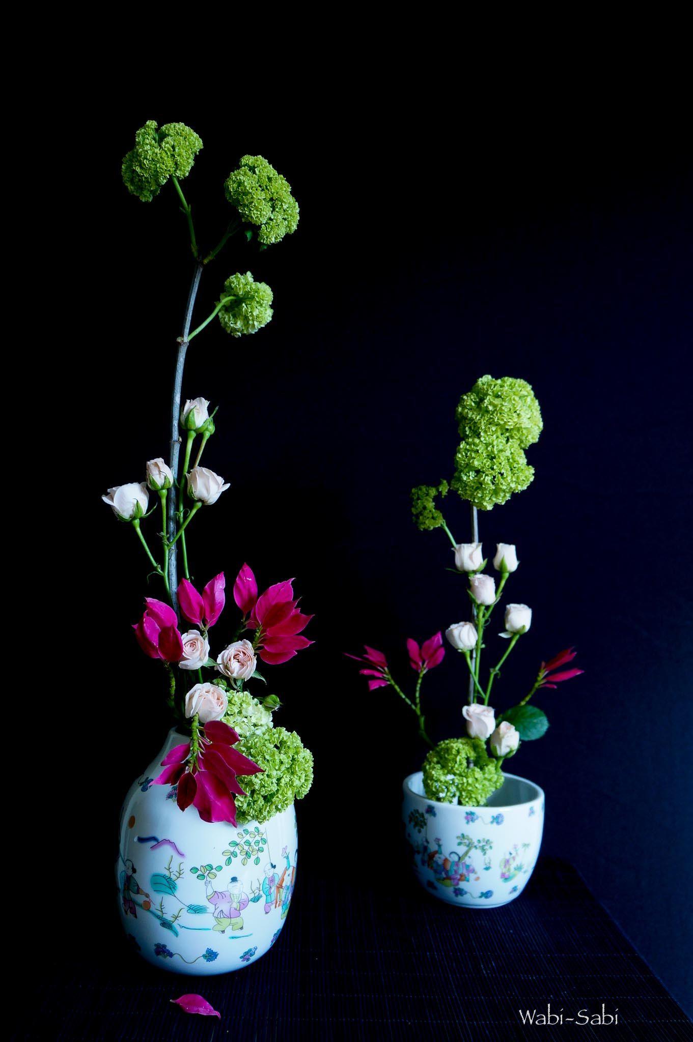 https://flic.kr/p/nhSQSJ | Spring and Feeling | Viburnum, rosas y Poinsettia