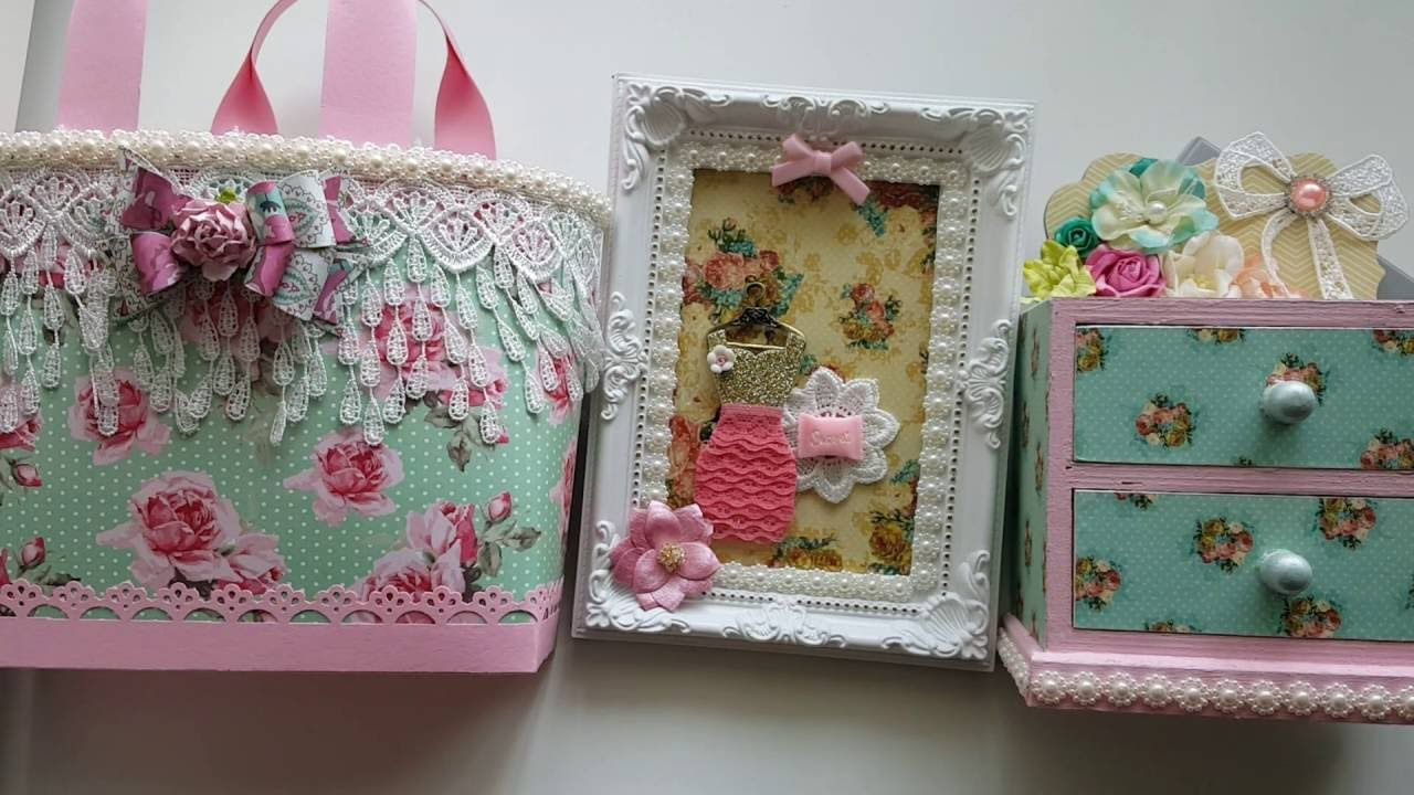 Shabby Chic Paper Purses -Final Project for Mamas Treasures