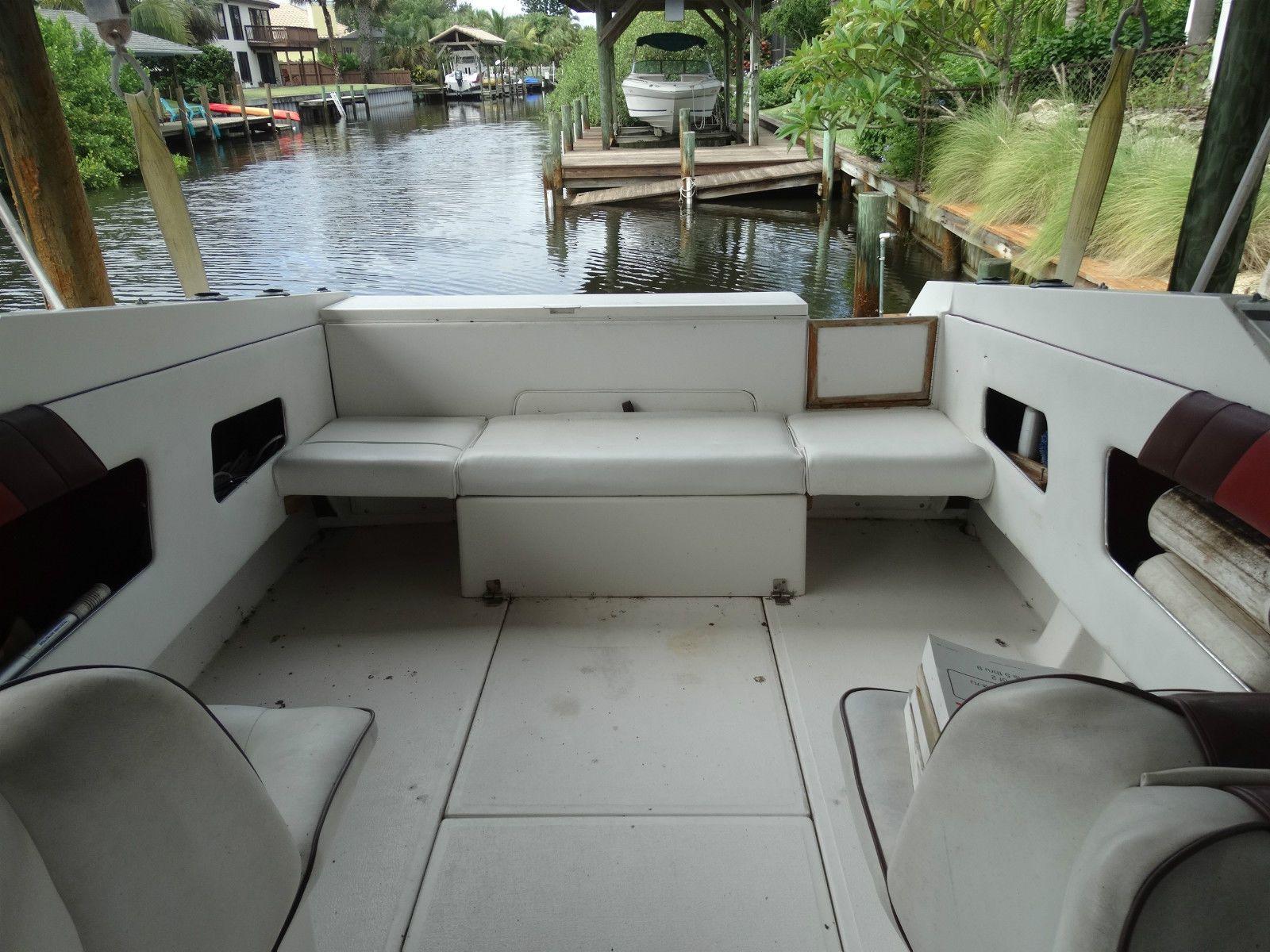 Ebay Boats Florida >> 1989 Sea Ray 220cc 23 8 Cuddy Cabin Florida Ebay Fishing Boat
