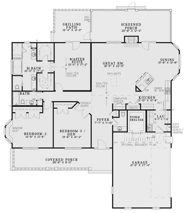 Country House Plan 151171 Ultimate Home Plans One Level House Plans Country Style House Plans House Plans