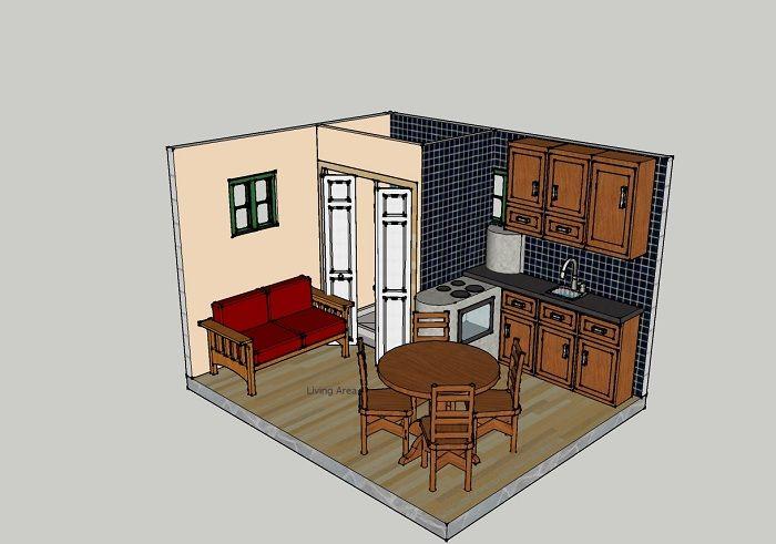 Theodore Ash 10x12 Barn Style Convertable Barn Style Hobbit House Tiny House Design