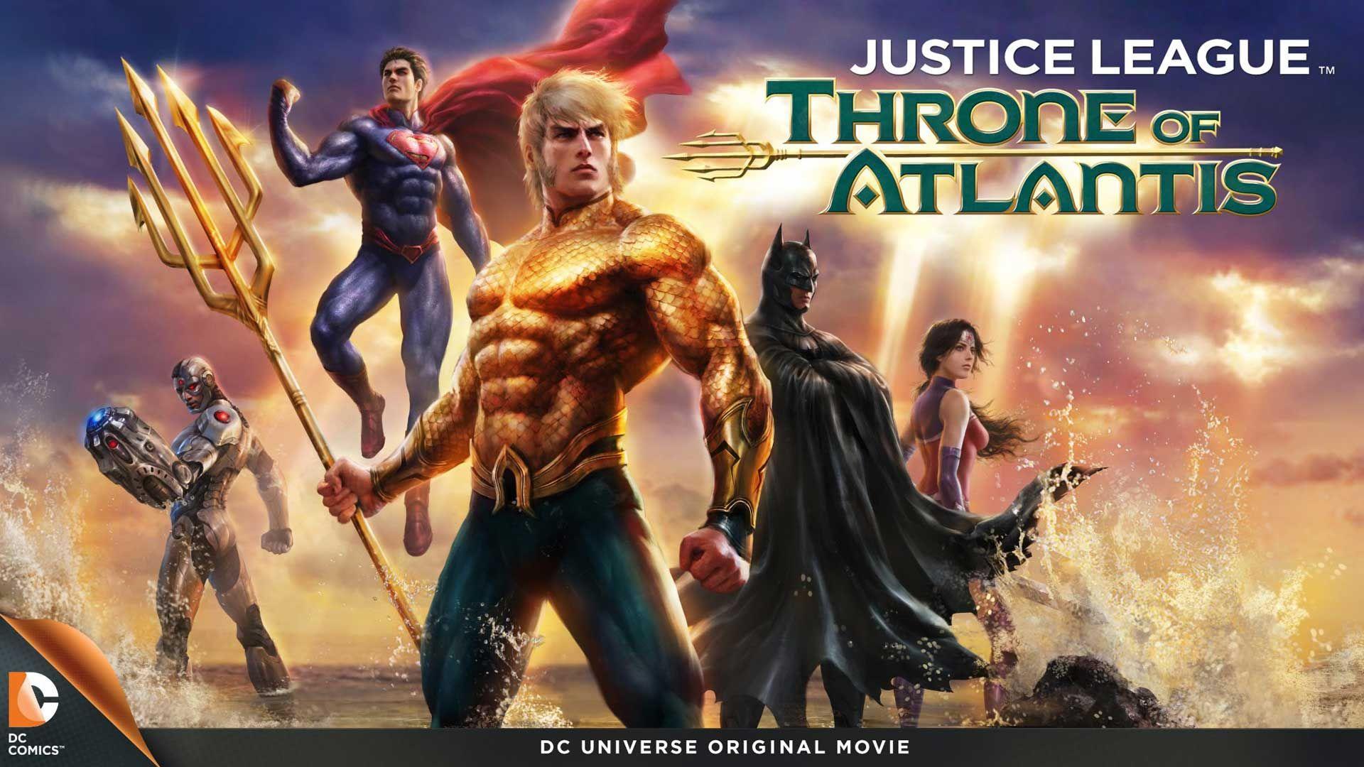 Justice League: Throne of Atlantis (2015) | DC Comics