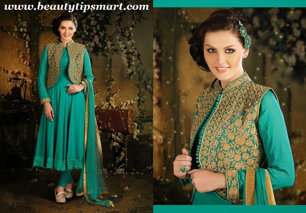 Jacket Salwar Kameez Designs For Ladies 2015 Collection Salwar