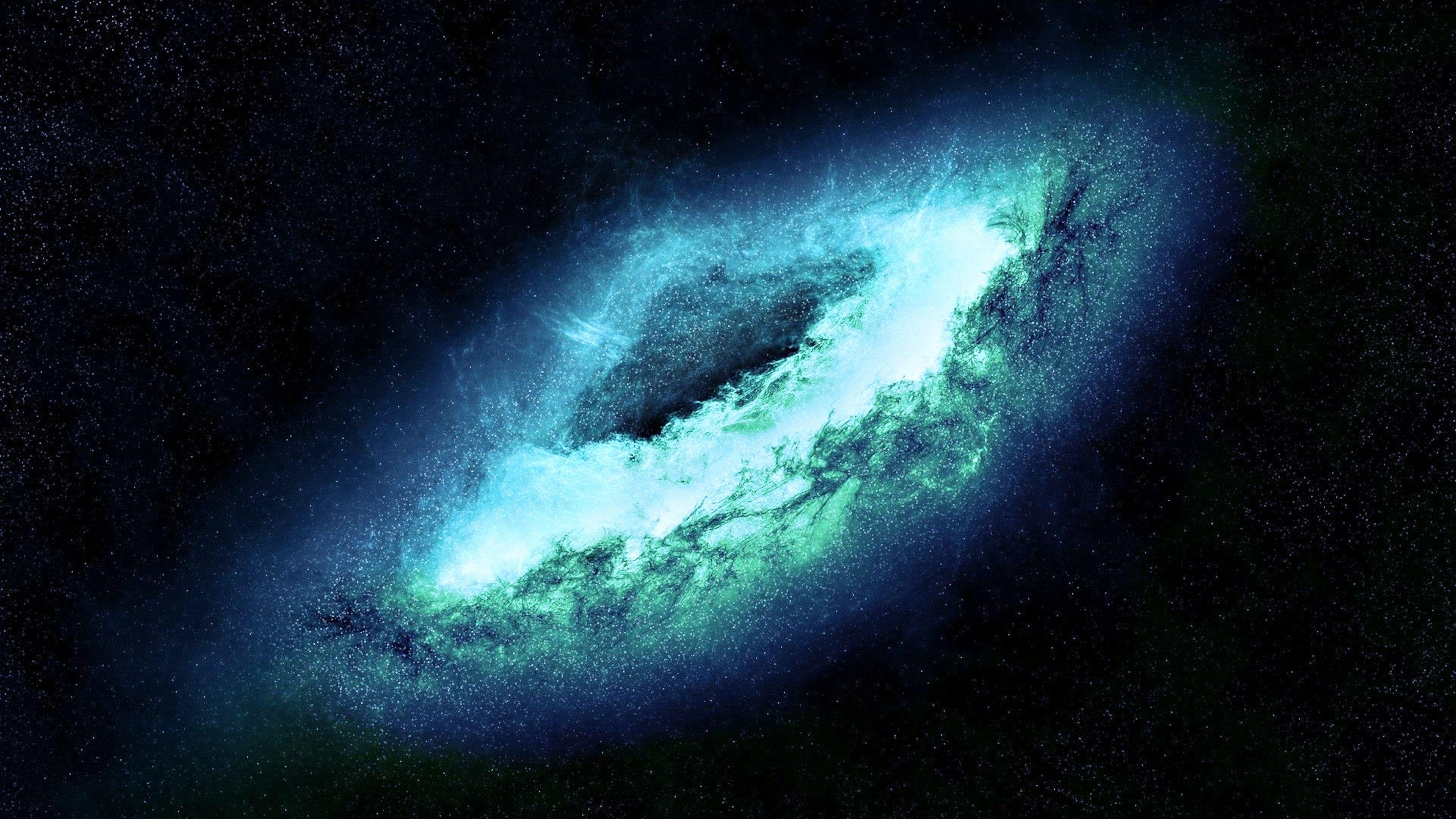 Blue Galaxy Ultra Hd 4k Wallpaper Jpg 3840 2160 Blue Galaxy Wallpaper Galaxy Wallpaper Milky Way Photography