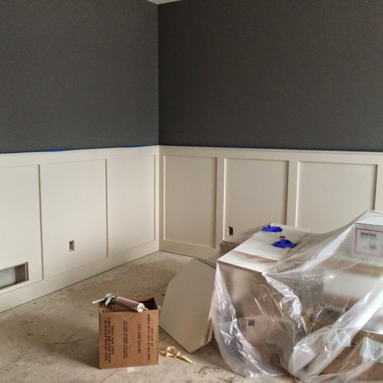 Grey Painted Rooms Gauntlet Gray From Sherwin Williams Project P Cot
