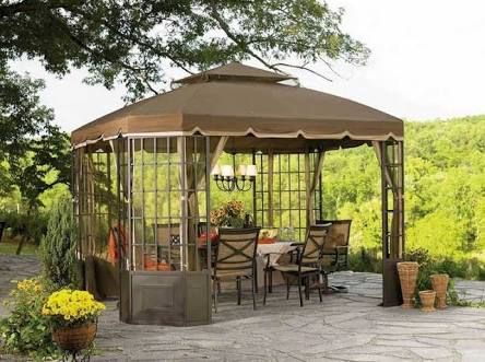 canopies off backyard wall images - Google Search