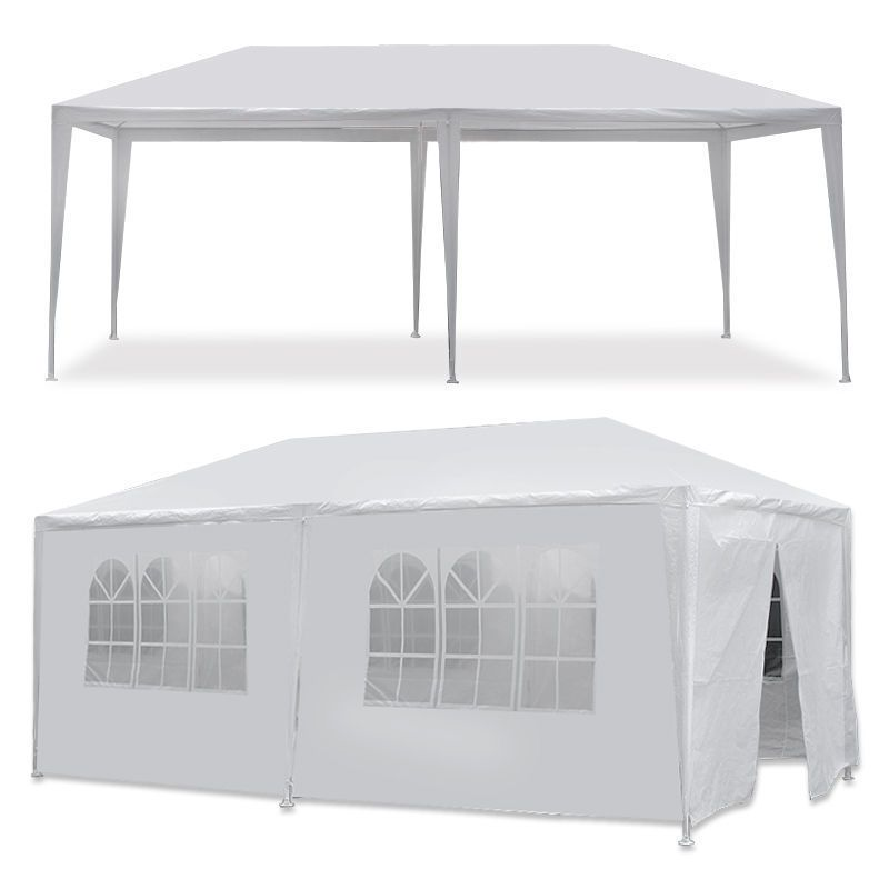 10 X20 Canopy Party Outdoor Wedding Tent Heavy Duty Gazebo Pavilion Cater Event Canopy Outdoor Gazebo Canopy White Gazebo