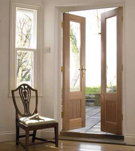 Howdens French Doors French Doors Interior French Doors Exterior Wood French Doors