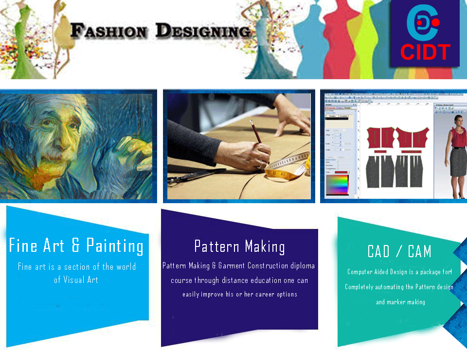 City Institute Of Design Technology Offers Various Courses Short Term And Diploma Courses Fineart Painting With Images Institute Of Design Art Courses Pattern Making