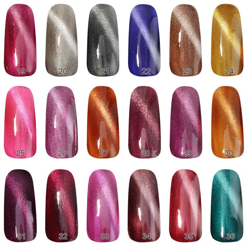 Cat Eye Gel Nail Polish Cat Eye Gel Cat Eye Nails Polish Gel Nail Polish
