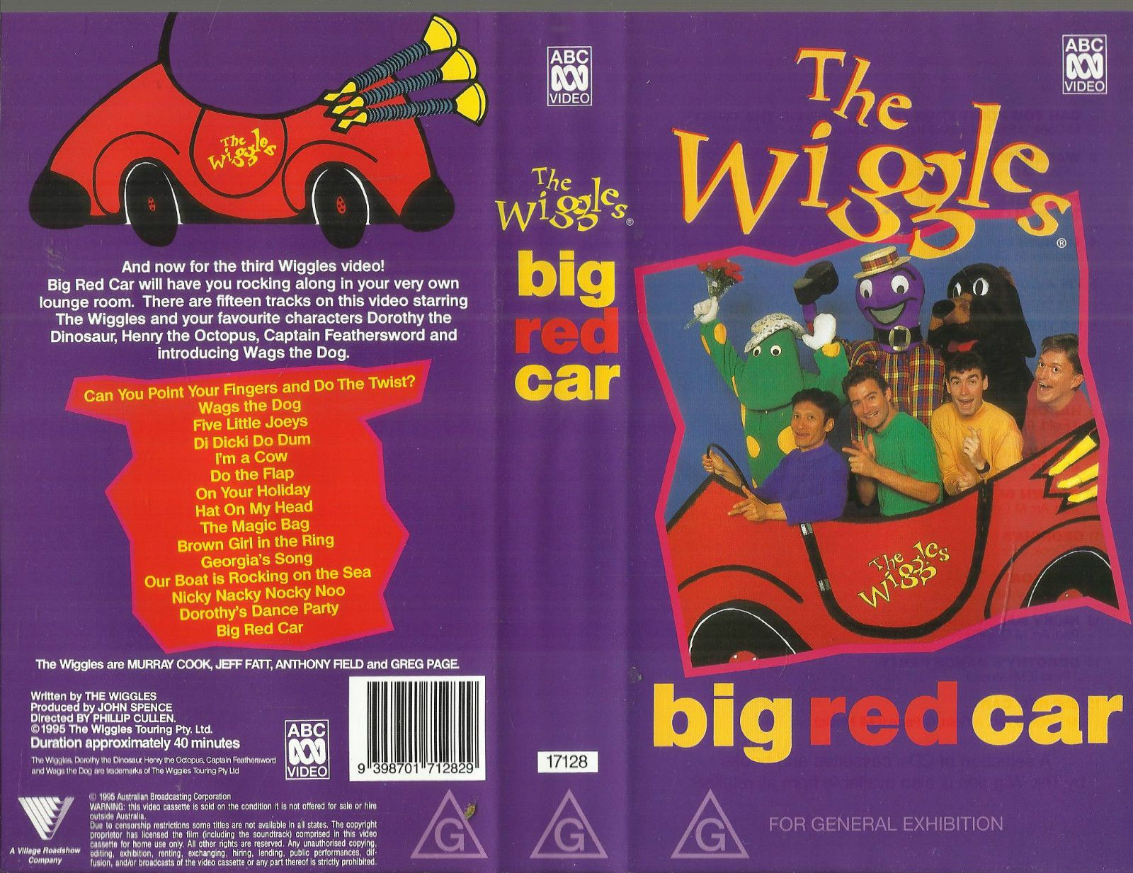 Wiggles Music Videos Big Red Car 99