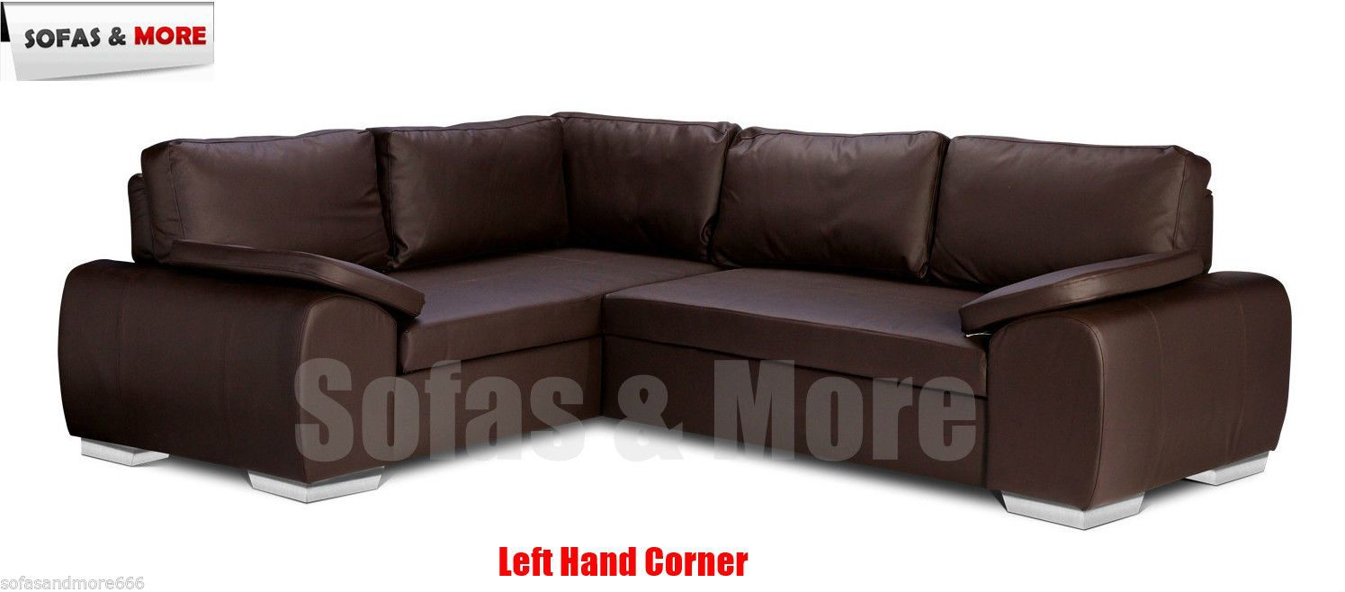 Corner Sofa Bed With Storage Enzo Black Brown Cream Faux Leather Brand New Http Www Ebay Co Uk Itm Co With Images Corner Sofa Bed With Storage Affordable Sofa Bed Sofa