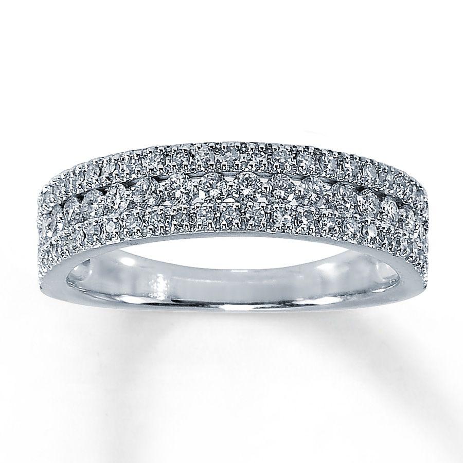 Diamond Anniversary Rings