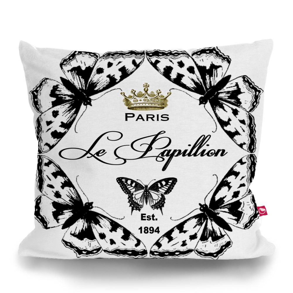 Cushion cover le papillon by sticky pillows pinterest