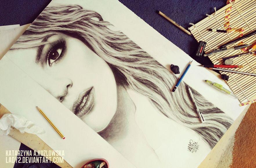 final_britney. by Lady2 on deviantART | First pinned to Celebrity Art board here... http://www.pinterest.com/fairbanksgrafix/celebrity-art/ #Drawing #Art #CelebrityArt