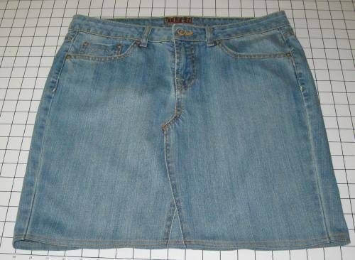 Make a blue jean skirt out of old jeans.... think i'll try this but im going to add lace at the bottom.