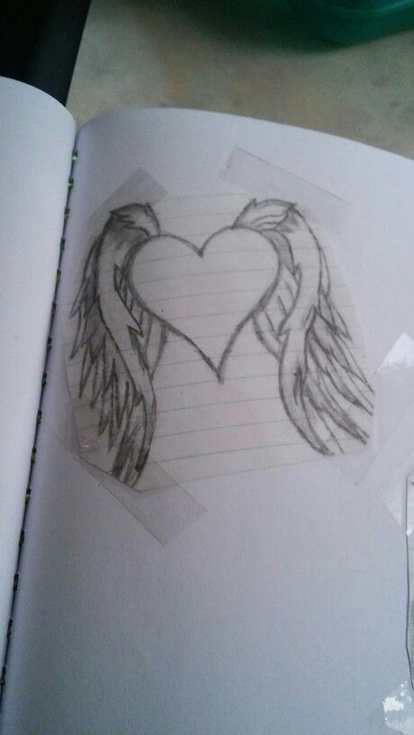 #Heart #drawing made by me